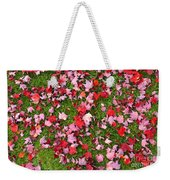 Leafs On Grass Weekender Tote Bag