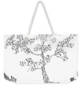 Leafy Jewels Weekender Tote Bag