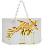 Leafy Sea Dragon Weekender Tote Bag