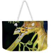 Leafy Sea Dragon Weekender Tote Bag by Mariola Bitner