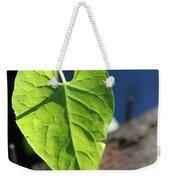 Leafy Veins Weekender Tote Bag