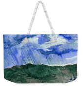 Leaking Sky Weekender Tote Bag