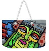 Leaning King Weekender Tote Bag