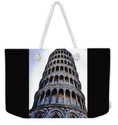 Leaning Tower Of Pisa In Tuscany, Italy Weekender Tote Bag