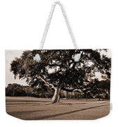 Leaning Tree Weekender Tote Bag