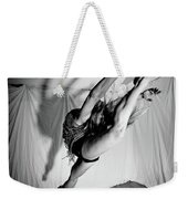Leaping In Studio Weekender Tote Bag