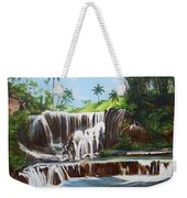Leaping Waterfall Weekender Tote Bag