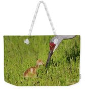 Learning To Eat Weekender Tote Bag