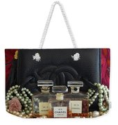 Leather And Lace 2 Weekender Tote Bag