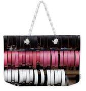 Leather Bracelets Weekender Tote Bag