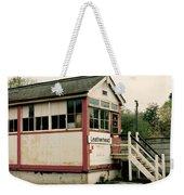 Leatherhead Station Weekender Tote Bag