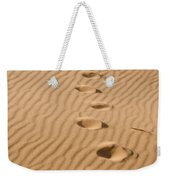 Leave Only Footprints Weekender Tote Bag