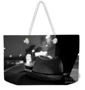 Leave Your Hat On Weekender Tote Bag