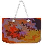 Leaves Abstract - Autumn Motif Weekender Tote Bag
