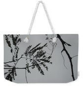 Leaves Against A Grey Sky Weekender Tote Bag