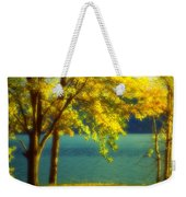 Leaves And Light Weekender Tote Bag