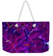 Leaves And Needles Weekender Tote Bag