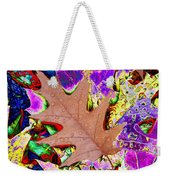 Leaves And Rain 4 Weekender Tote Bag