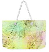 Leaves Background Weekender Tote Bag