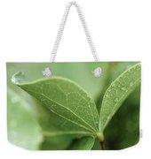 Leaves, Fresh Weekender Tote Bag