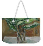 Leaves In A Tall Glass Weekender Tote Bag