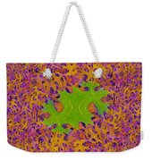 Leaves In Fractal 2 Weekender Tote Bag