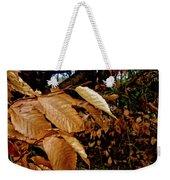 Leaves In Late Autumn Weekender Tote Bag