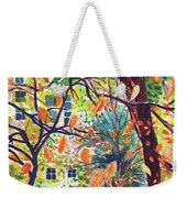 Leaves In Nyc Weekender Tote Bag