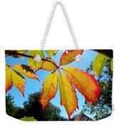 Leaves In Sunlight 4 Weekender Tote Bag