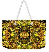 Leaves In The Fall Design Weekender Tote Bag