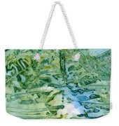 Leaves In Water Weekender Tote Bag