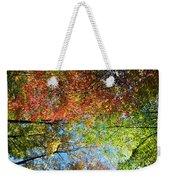 Leaves Of All Colors Weekender Tote Bag