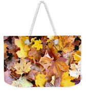Leaves Of Fall Weekender Tote Bag