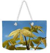 Leaves Of Gold Weekender Tote Bag