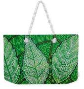 Leaves Of Spring Weekender Tote Bag