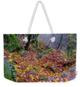 Leaves Of The Forest Weekender Tote Bag