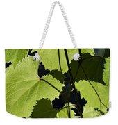 Leaves Of Wine Grape Weekender Tote Bag by Michal Boubin