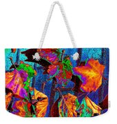 Leaves On Bricks Weekender Tote Bag