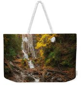 leaves on Mingo Weekender Tote Bag