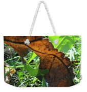 Leaves Still Weekender Tote Bag