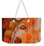 Leaves1 Weekender Tote Bag by Chris Steinken