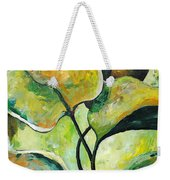 Leaves2 Weekender Tote Bag