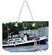 Leaving Harbor Weekender Tote Bag