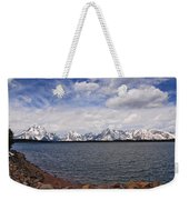 Leaving The Grand Tetons Weekender Tote Bag