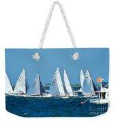Leaving The Harbor Weekender Tote Bag