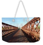 Leaving The Lost Bridge Weekender Tote Bag