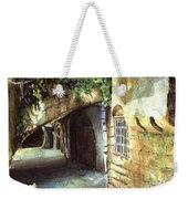 Lebanese Watercolors Jewsish Zone Saida Weekender Tote Bag