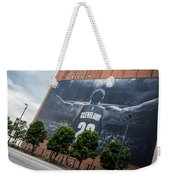 Lebron James Banner Weekender Tote Bag