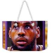 Lebron James Believes Weekender Tote Bag