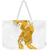 Lebron James Cleveland Cavaliers Pixel Art 13 Weekender Tote Bag